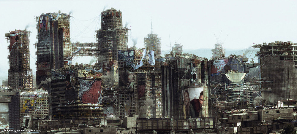 ELYSIUM Image Engine - Sony Pictures - Matte Painting - Maya / VRay / Photoshop