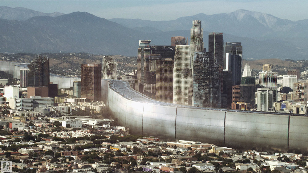 COLONY Ghost VFX - USA Network - Matte Painting - Photoshop
