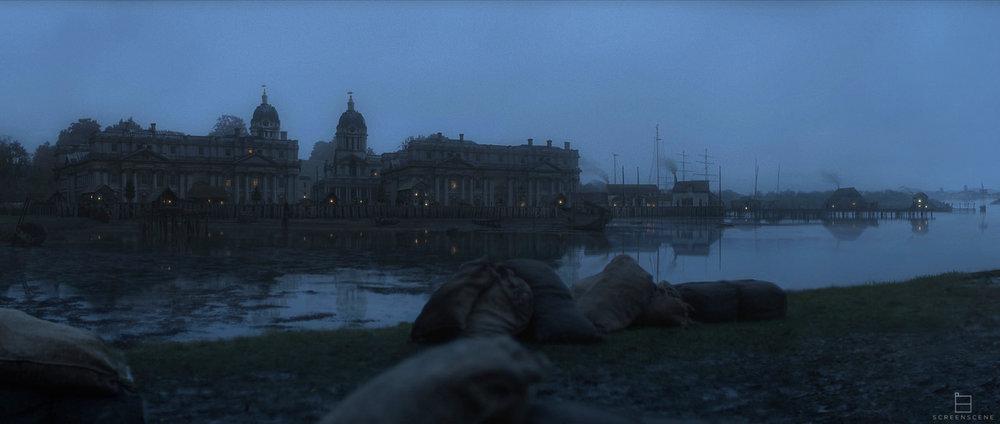 """""""The Frankenstein Chronicles"""" Screenscene - ITV Encore - Matte Painting"""