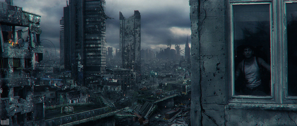 PLAYSTATION GREATNESS AWAITS The Mill NY - Concept / Matte Painting - Photoshop