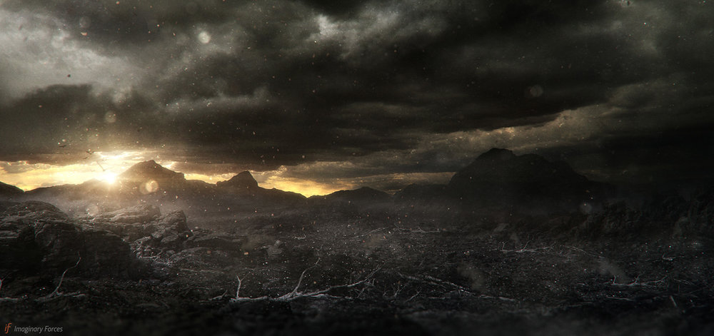 GOD OF WAR Imaginary Forces - Concept / Matte Painting - Photoshop