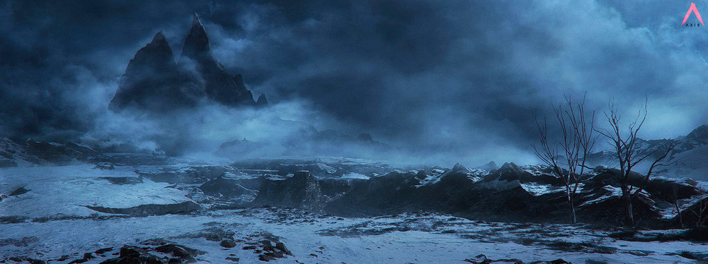 DESTINY - RISE OF IRON E3 Trailer - Axis Animation - Matte Painting - Vue for 3D base work / Photoshop