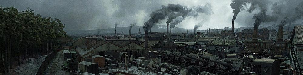 - SHERLOCK HOLMES A GAME OF SHADOWSMPC - MATTE PAINTING