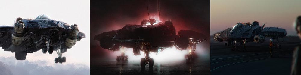 - X-37 JETCONCEPT ART