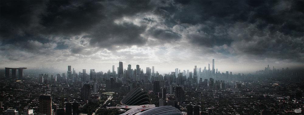 THE MILL NY   Concept Art