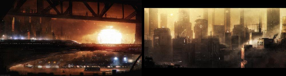 SICK SUN  Concept Art