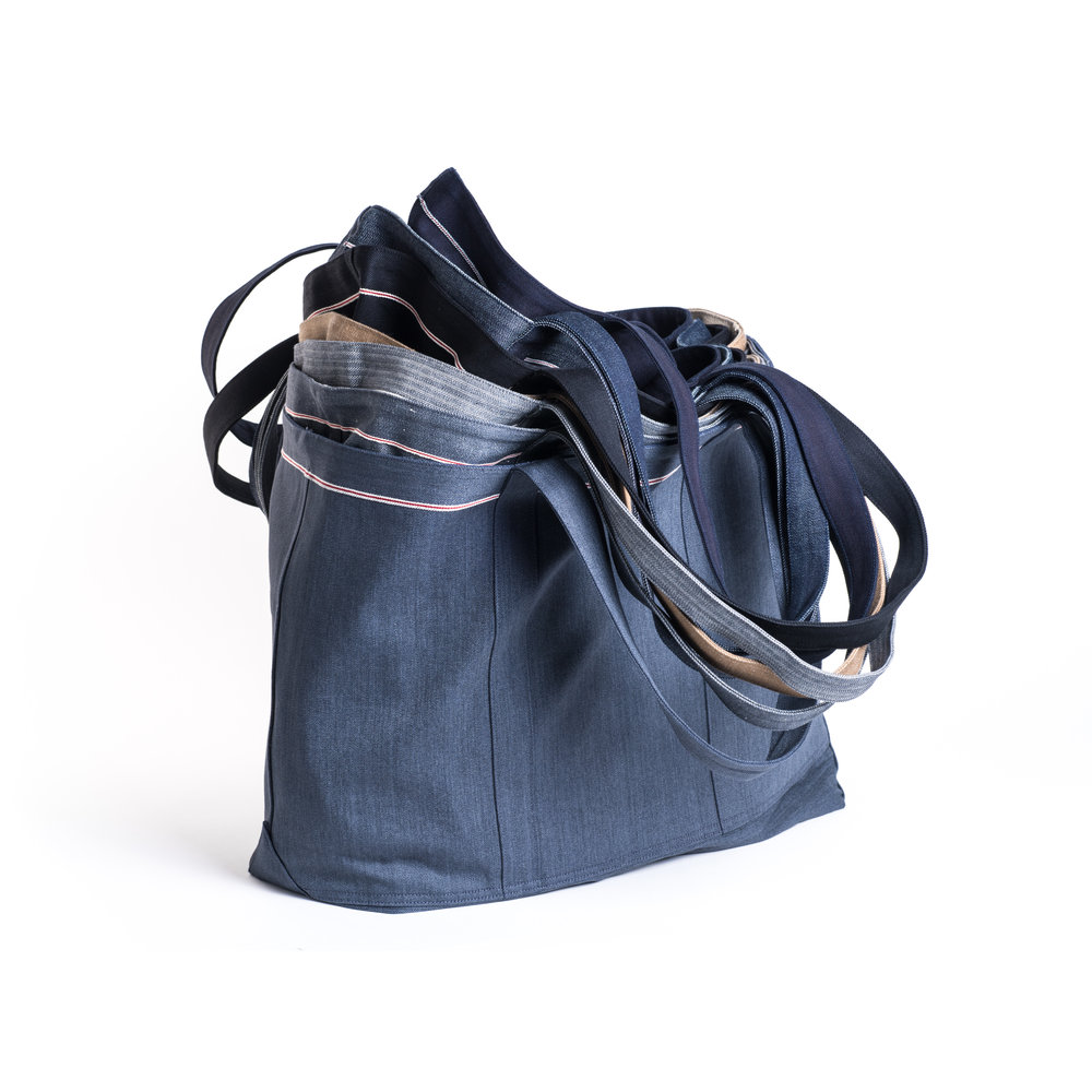 3x1 Selvedge Denim Tote, CH Omakase Edition