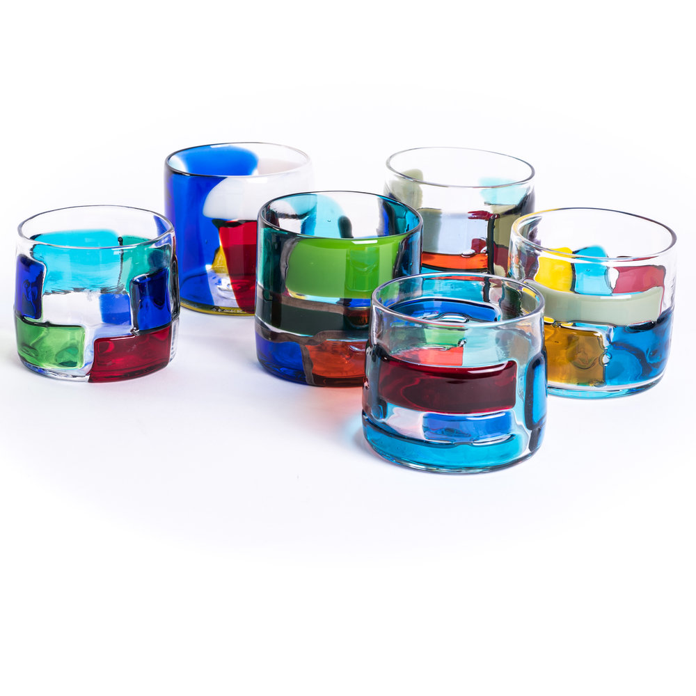 Warby Parker + Tom Fruin Drinking Glasses, CH Omakase Edition