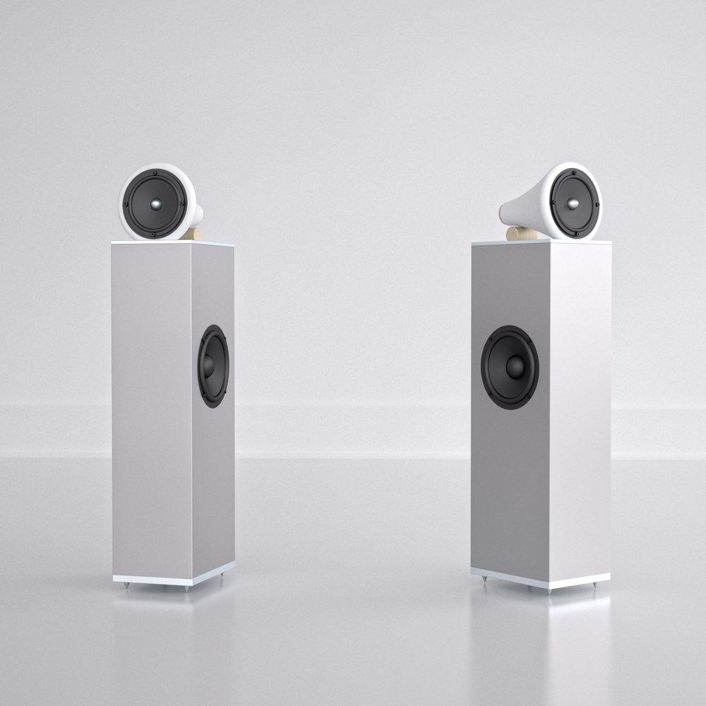 Joey Roth, Ceramic Speaker Towers