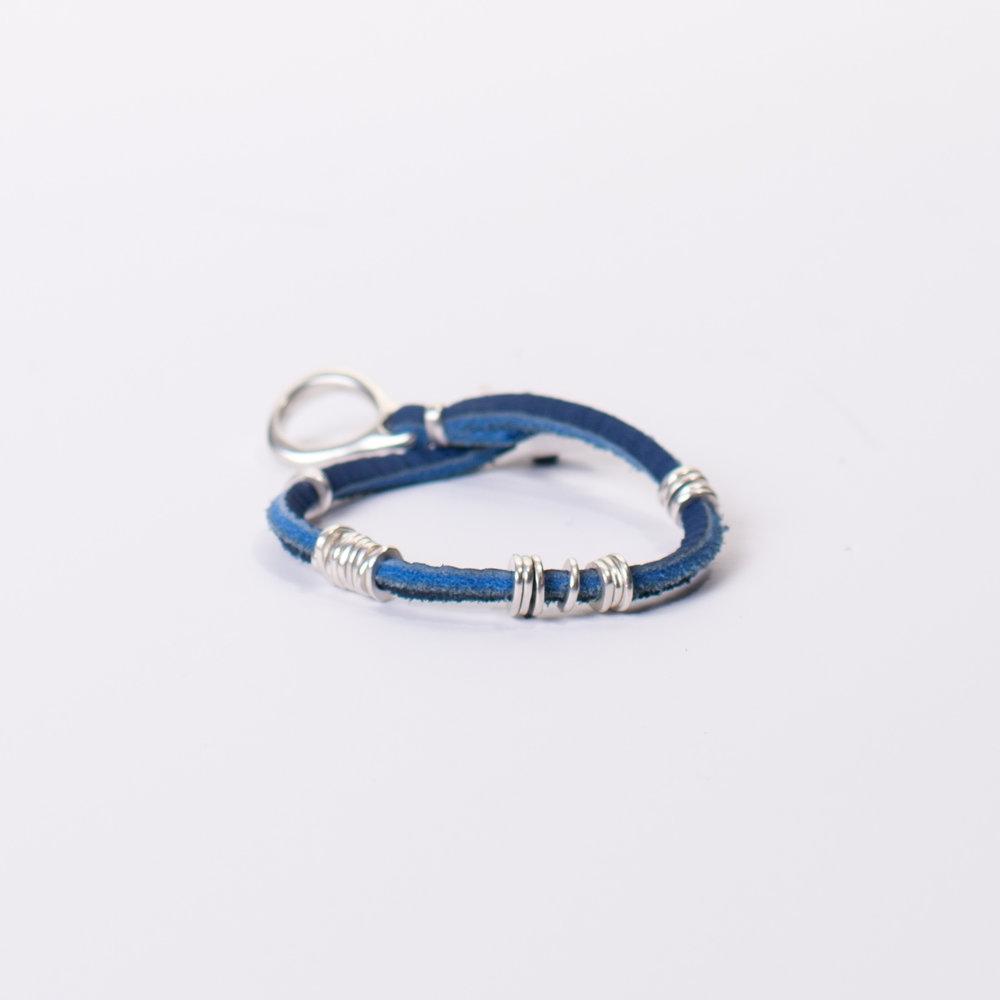 Jill Platner + COOL HUNTING Omakase Sandstone Blue Bracelet