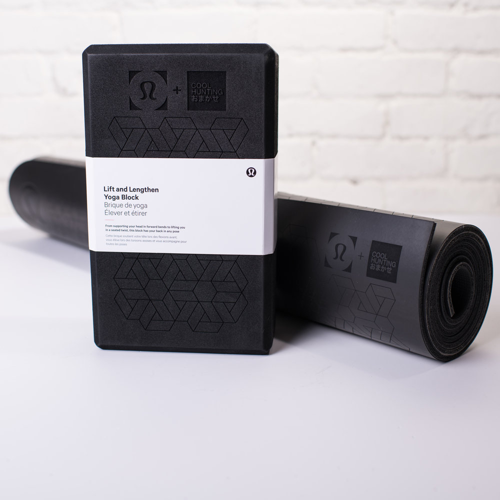 Lululemon + COOL HUNTING Omakase Yoga Mat and Block