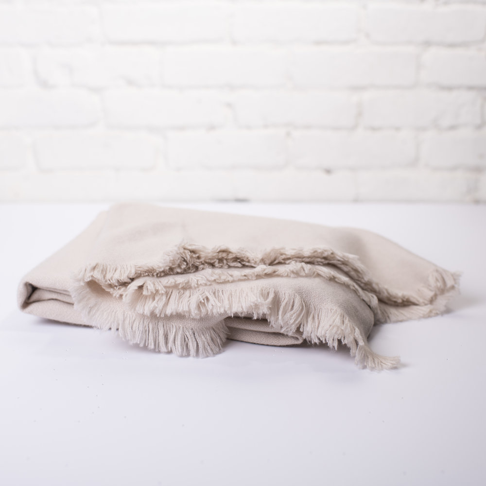From the Road + COOL HUNTING Omakase Nara Cashmere Throw