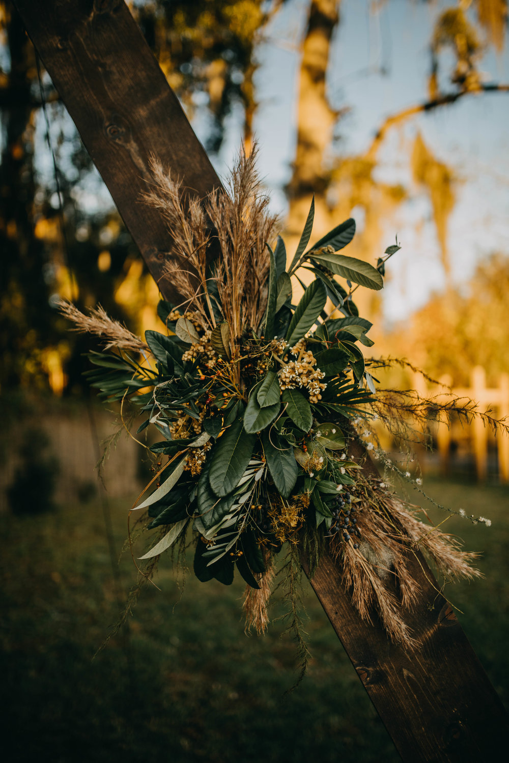 Tropical Florals | American Traditional Tattoo Themed Eco Friendly Dark Florida Wedding