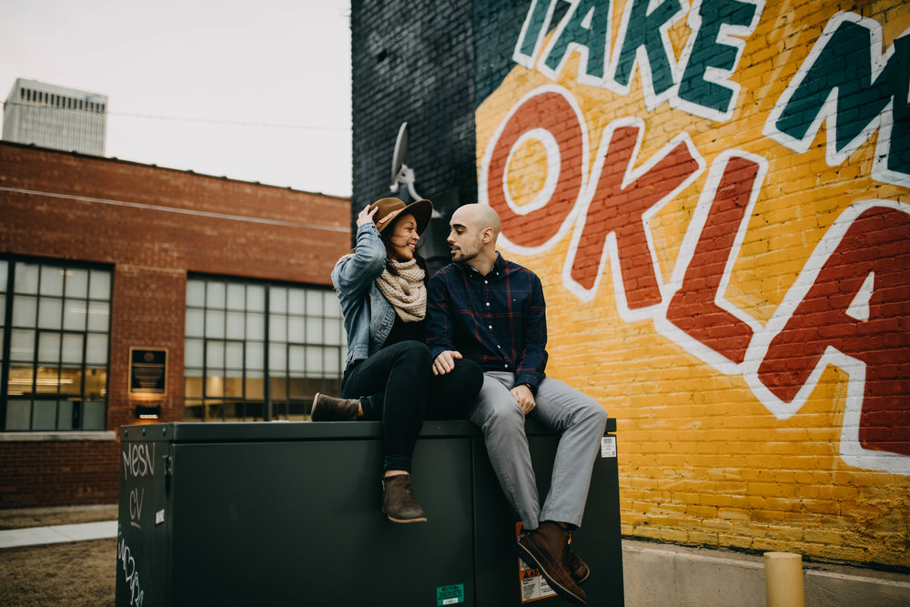 Tulsa Oklahoma Engagement Session