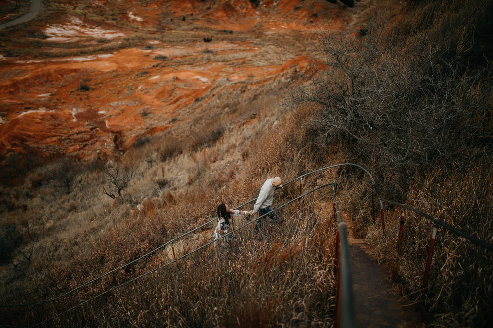 Gloss Mountain Oklahoma Engagement Photos