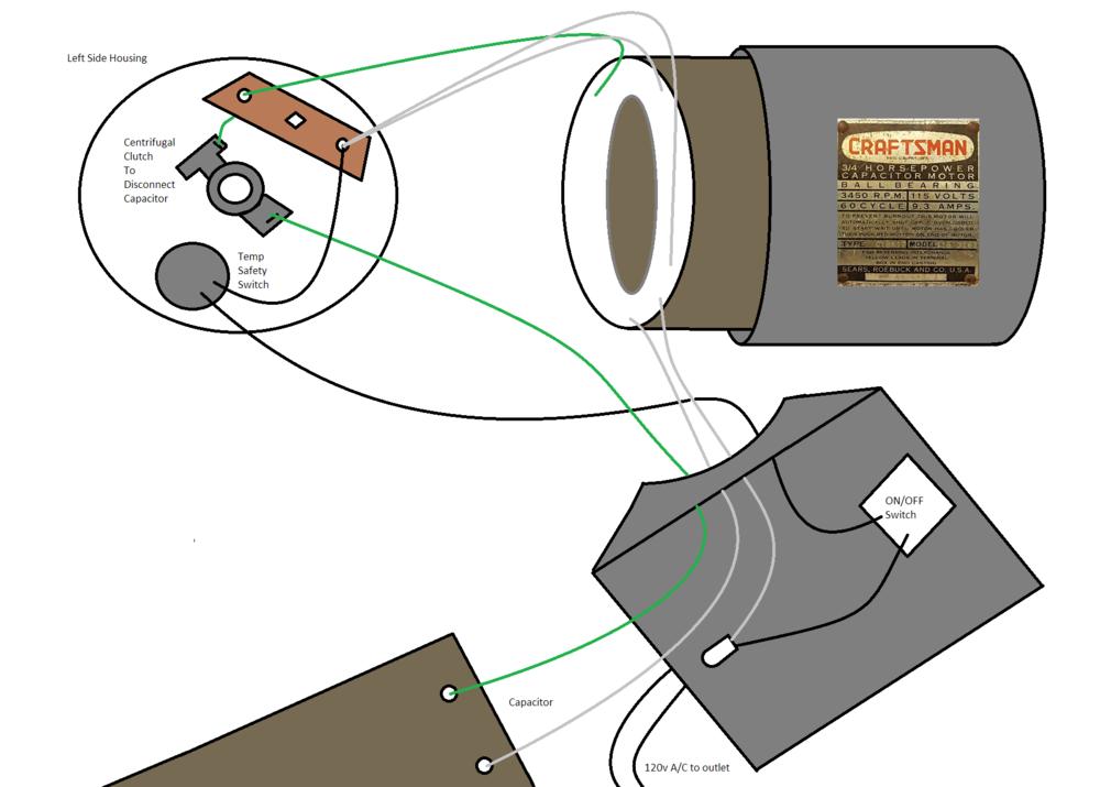 1950's craftsman 3 4 horse electric motor rough wiring diagram electric fan motor wiring diagrams 1950s_craftsman_motor_rough_wiring png