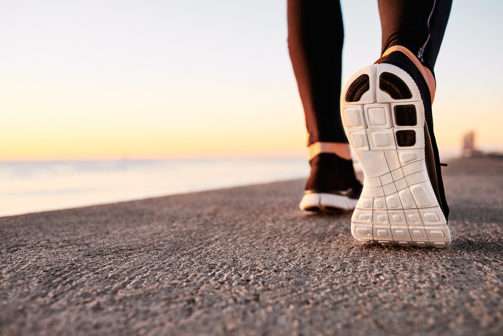Caminhadas podem ajudar a prevenir varizes