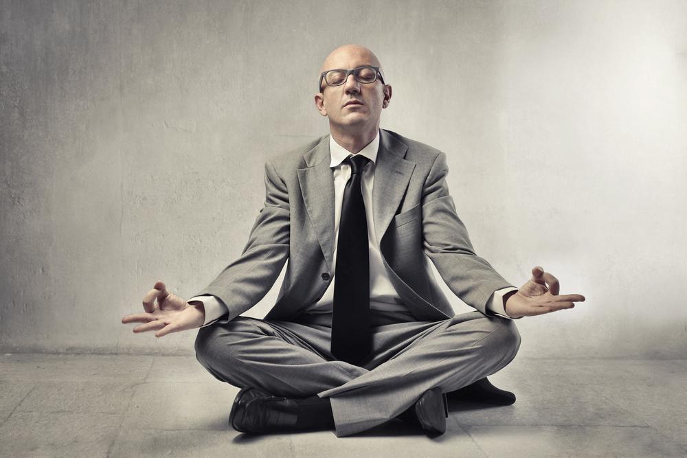 A meditação é uma das práticas que nos ajudam a lidar com crises