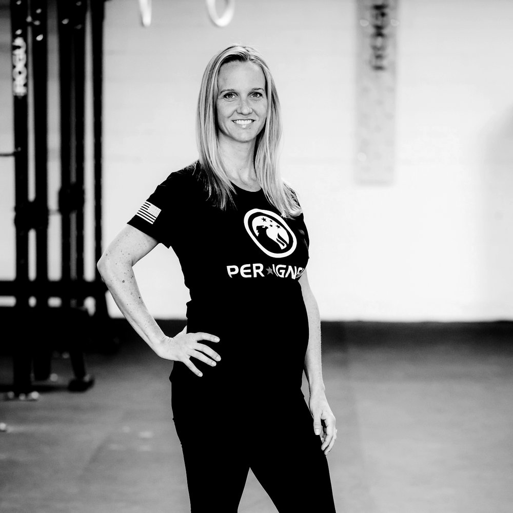 LAUREN SLIVINSKI  | GENERAL MANAGER  Although mostly behind the scenes keeping our gym running and staying busy as a new mom, Lauren has over 11 years' experience as a personal trainer, group fitness instructor and nutrition coach. In her free time, you can find Lauren running trails and spending time in the mountains.   CREDENTIALS  CF-L1, Certified Personal Trainer, Holistic Health Coach