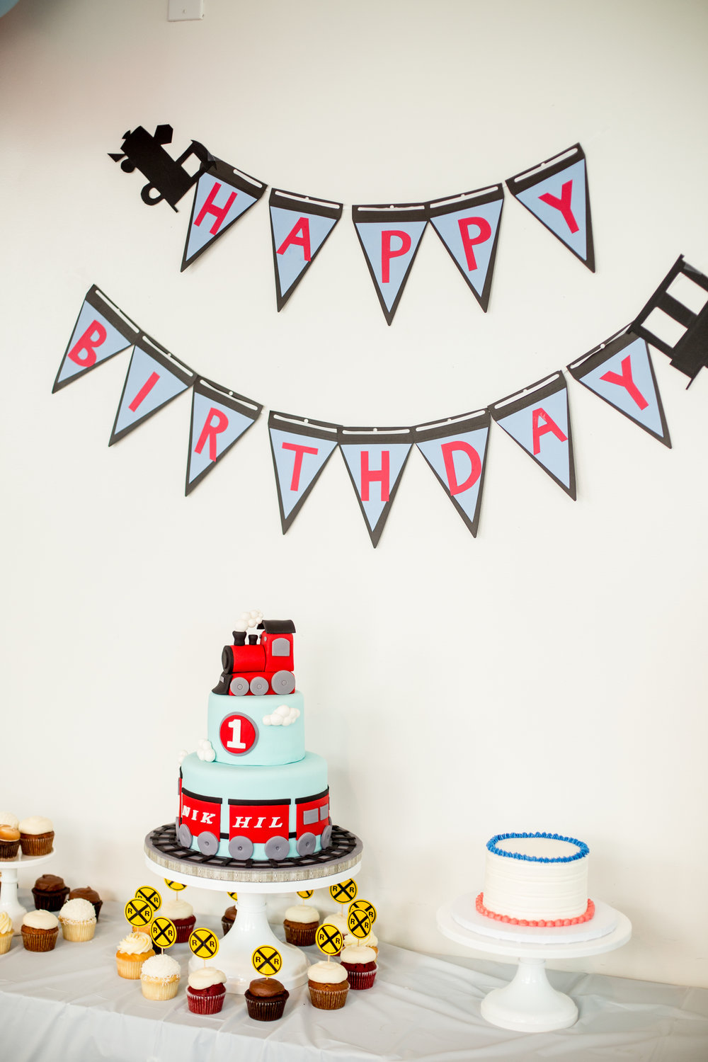 Bay Area Birthday Party Cake Photography