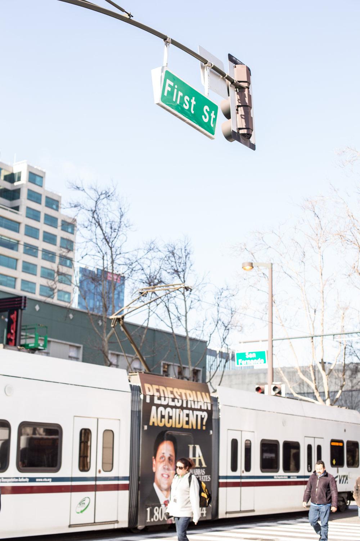 San Jose public transit system