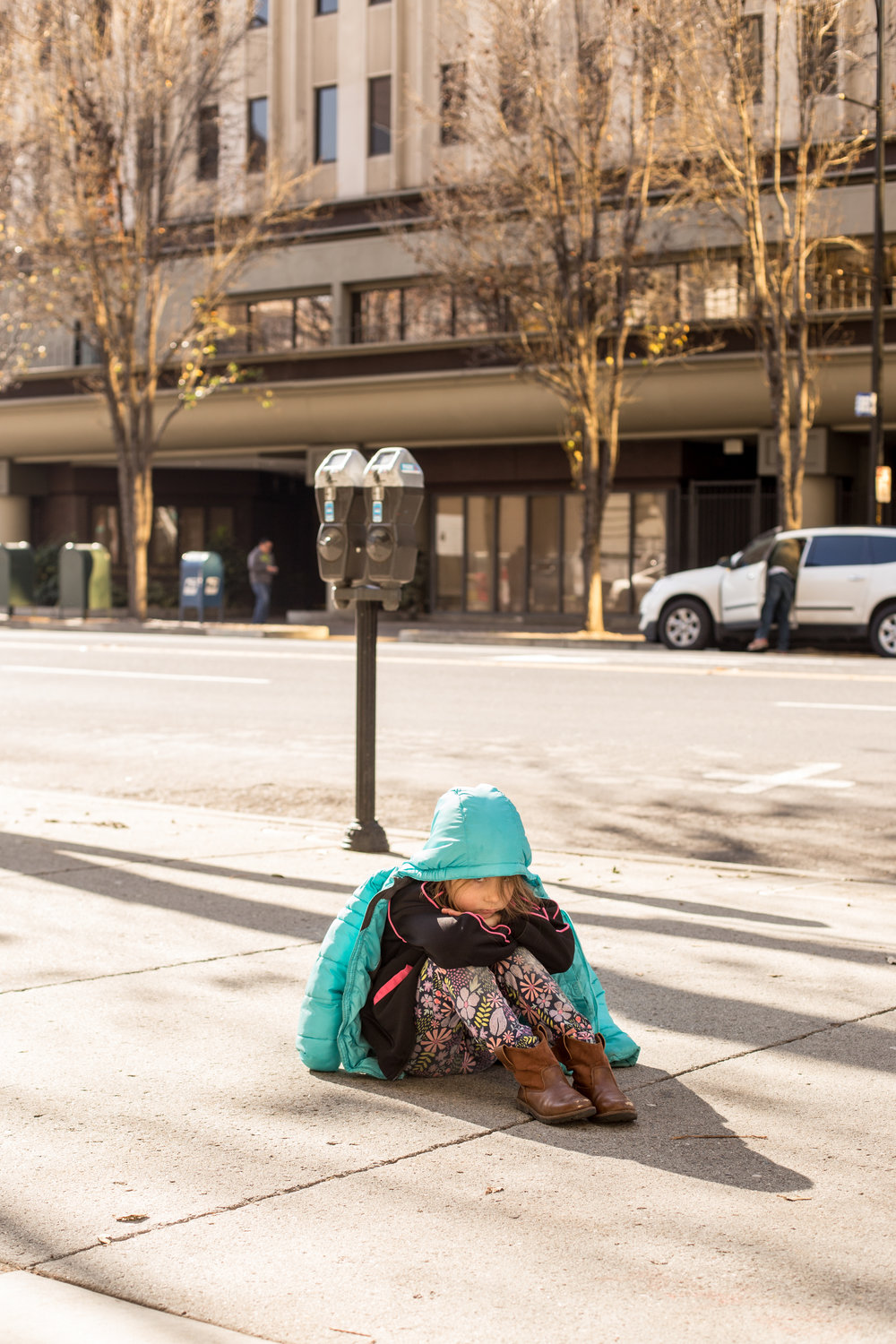 photo of little girl in San Jose