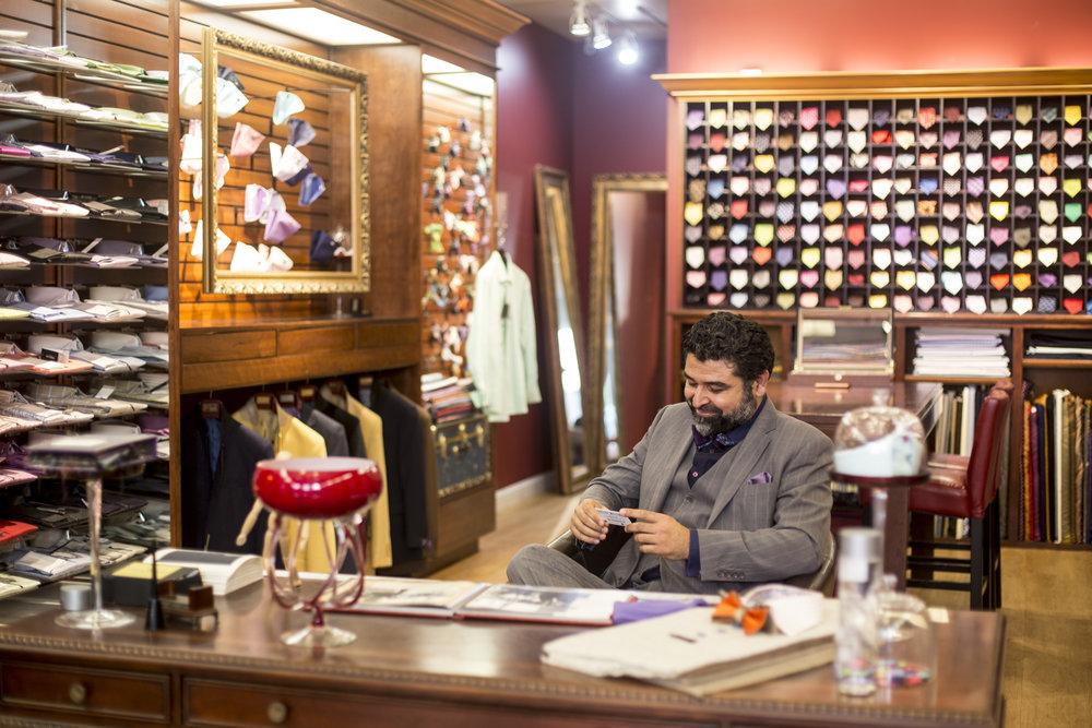 Franco Uomo Santana Row Mens Dress Clothes