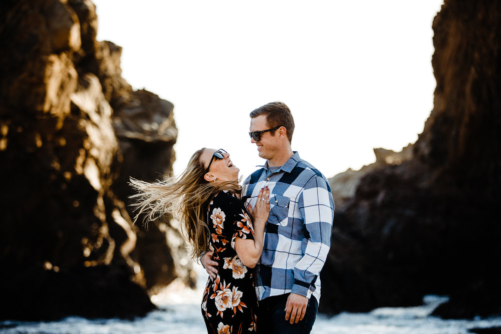 Archer Inspired Photography Michelle JJ Big Sur Wedding Engagement California Central Coast Lifestyle Documentary Photographer-58.jpg