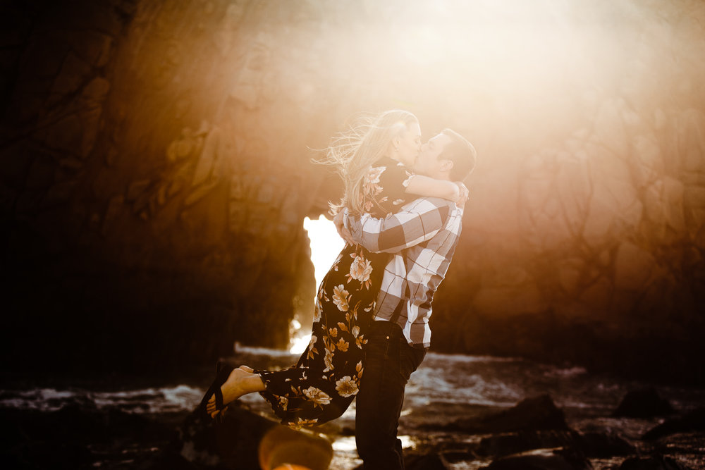 Archer Inspired Photography Michelle JJ Big Sur Wedding Engagement California Central Coast Lifestyle Documentary Photographer-50.jpg