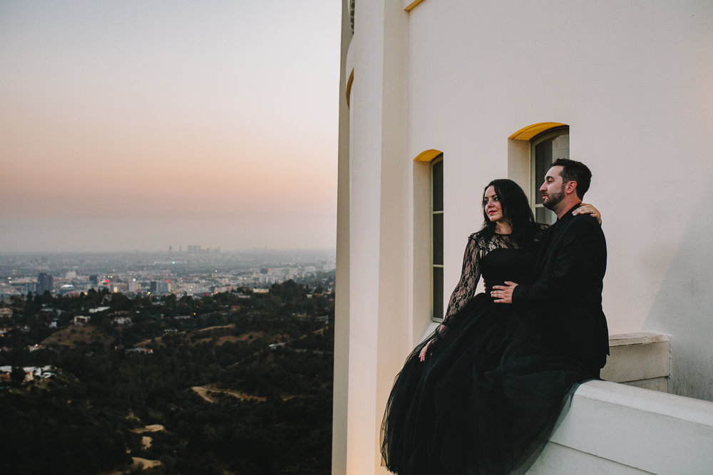 Archer Inspired Photography Los Angeles Wedding Engagement Lifestyle Documentary Griffith Observatory Downtown LA Photographer-139.jpg