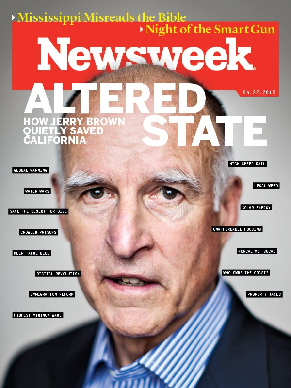 Jerry Brown, Governor CA