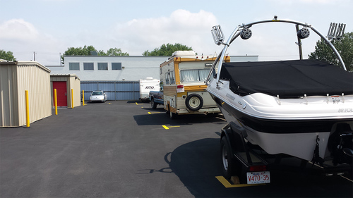 RV and auto parking