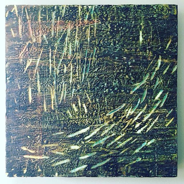 Encaustic painting by Eck Follen