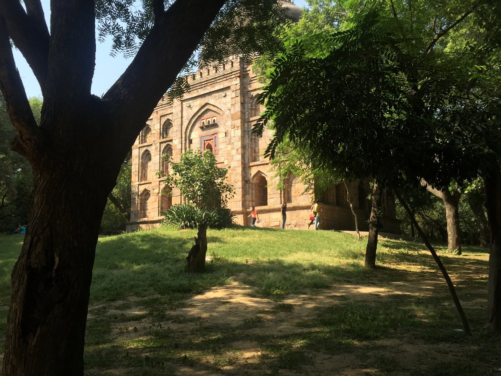 Ruins of Delhi<br> Sultans in Hauz Khas,<br> South Delhi