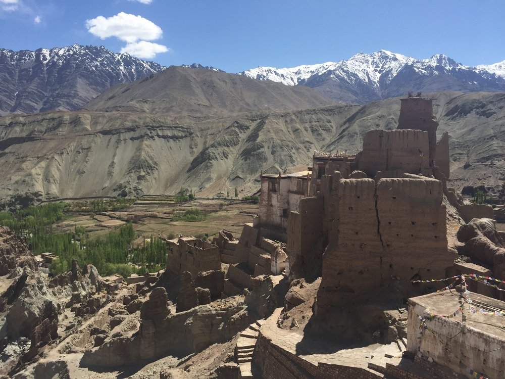 Ancient Fort in Ladakh