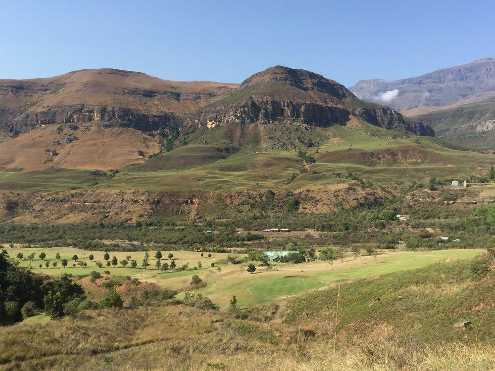 Drakensburg View