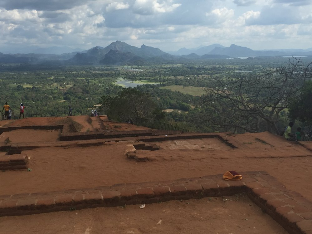 View from the <br>Top of Sigiriya