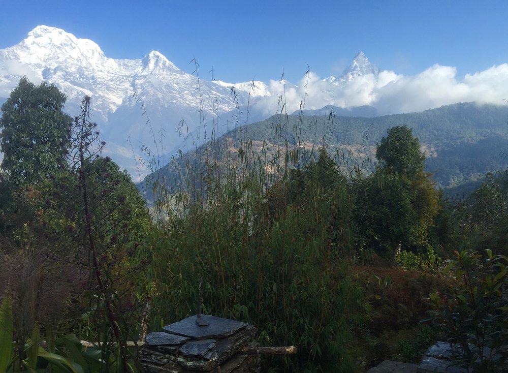 Annapurna Range<br> Nepal