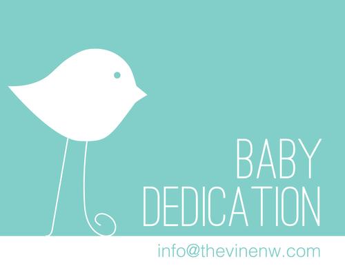 BABY DEDICATIONS PANCAKE BREAKFAST The Vine Church