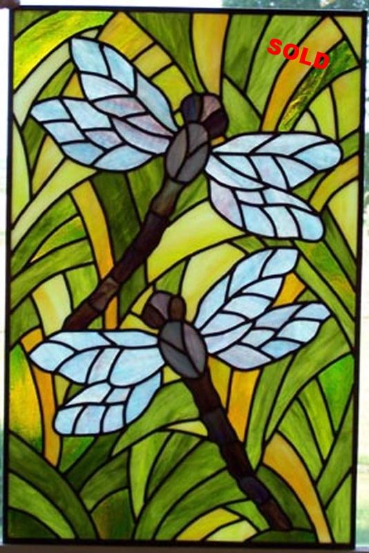 """Dragonfly Garden ~ 15.5"""" x 23.5"""""""