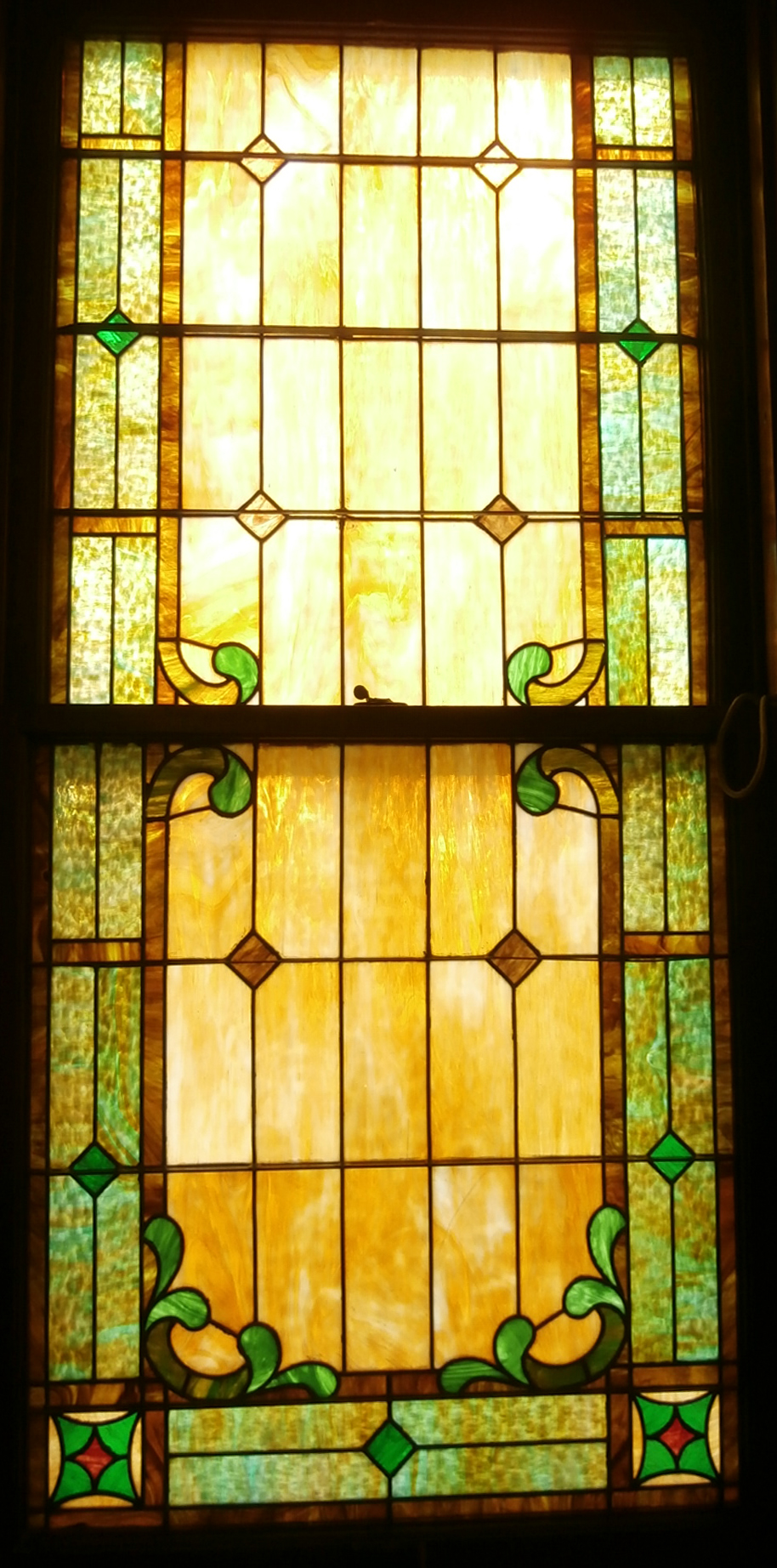 Restored Church Window