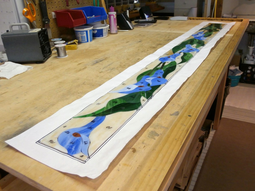 "Measures over five feet long and 5.25"" wide"