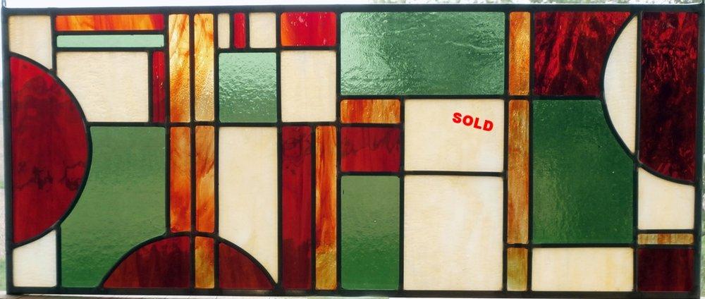 "Transom Panel ~ 8.5"" x22"" ~ $230"