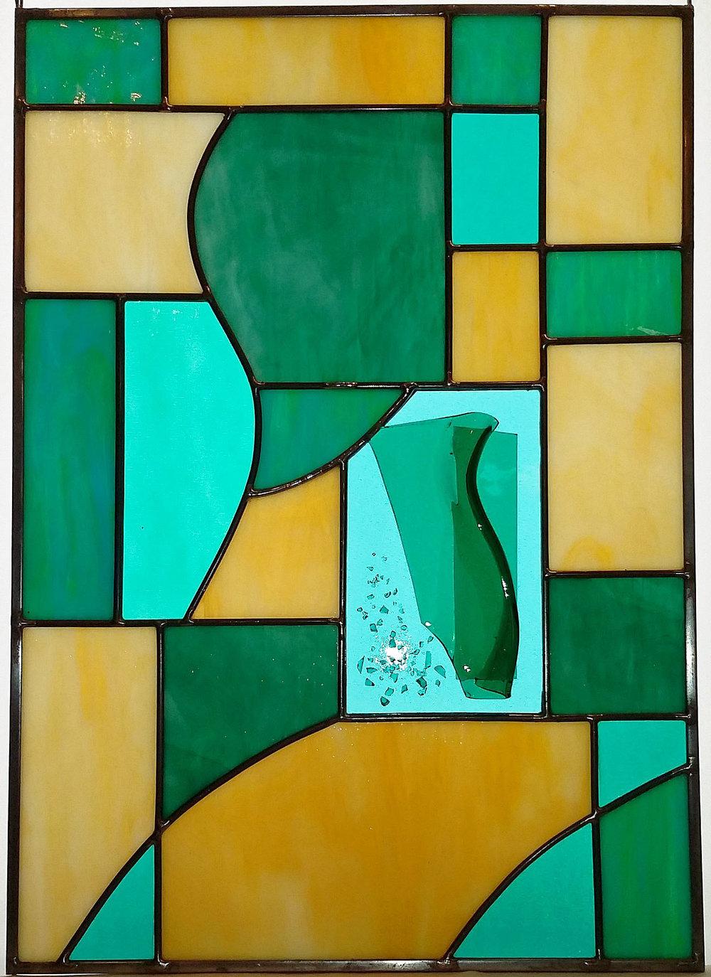 "Emerald Isle ~ 14"" x 20"" ~ $160"