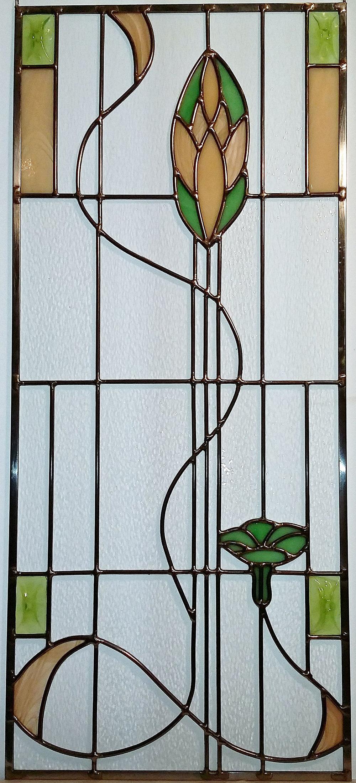 """Nouveau Blossoms ~ 12"""" x 28"""" ~ $350"""