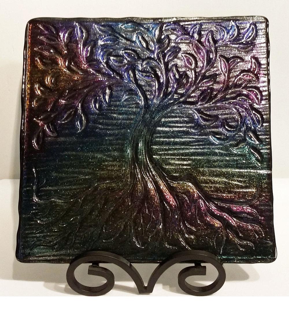 "Tree of Life ~ 12"" x 12"" ~ $210"