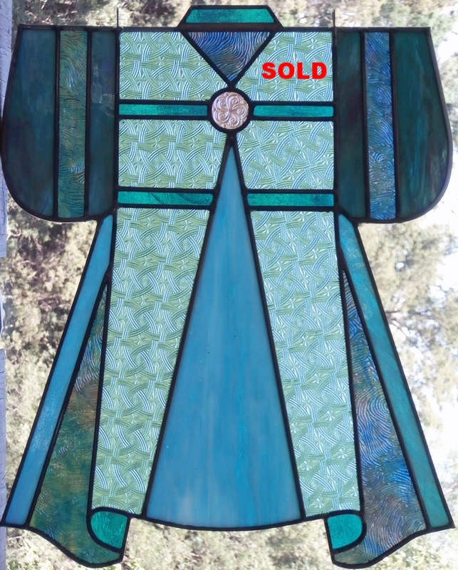 "Kimono II ~ 15"" x 19"" ~ $175"