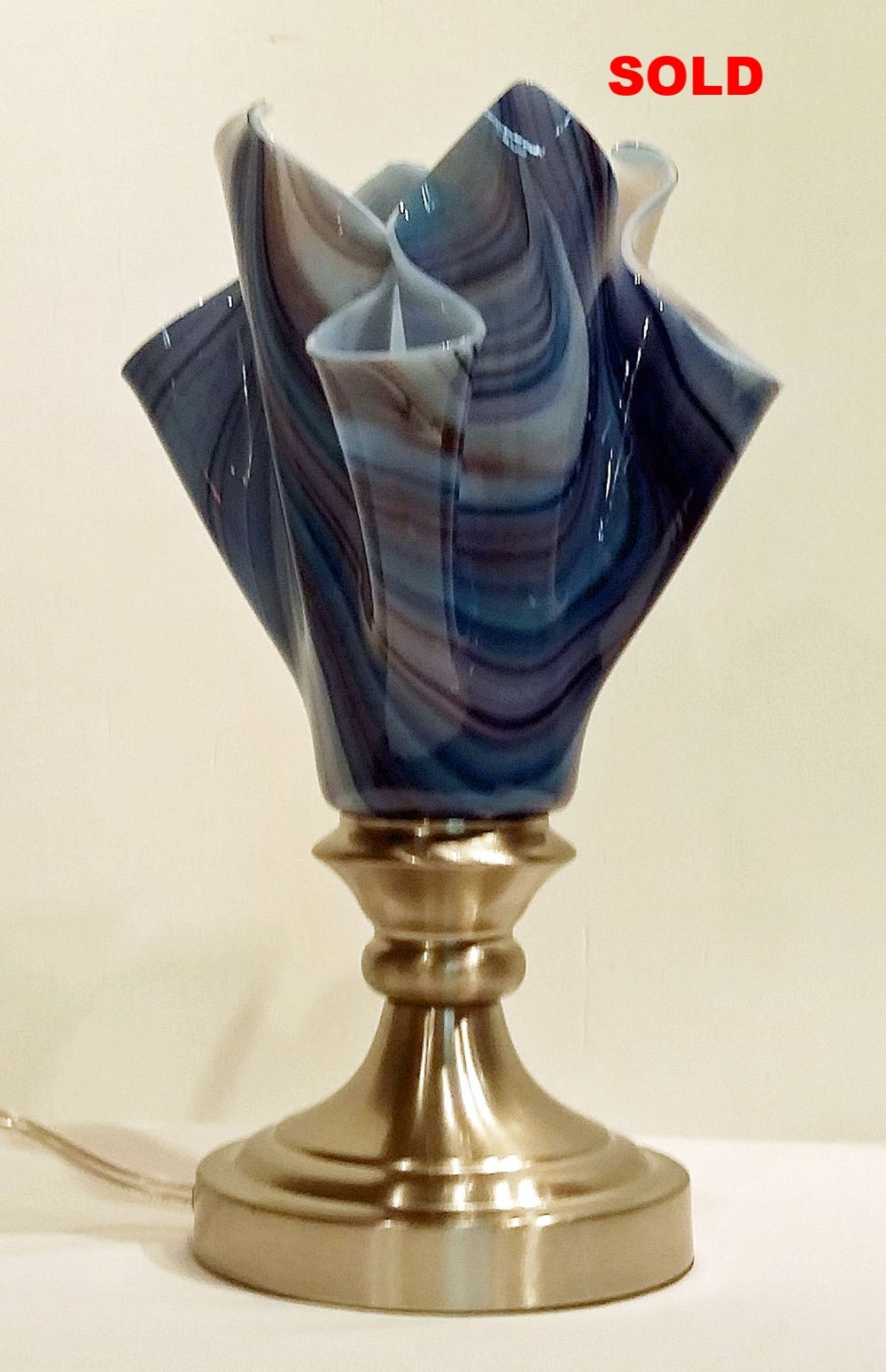 Draped Vase Lamp ~ $135