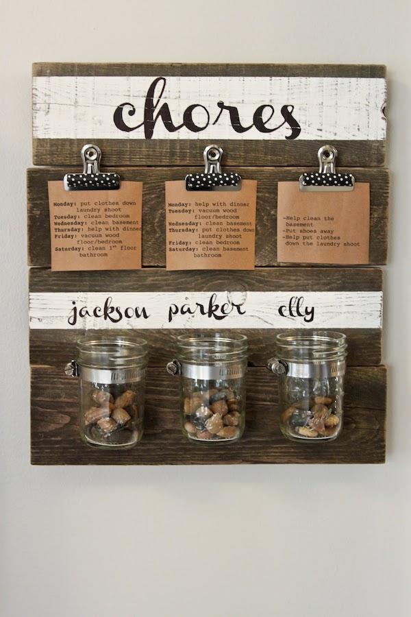 Diy Chore Chart Colors And Craft