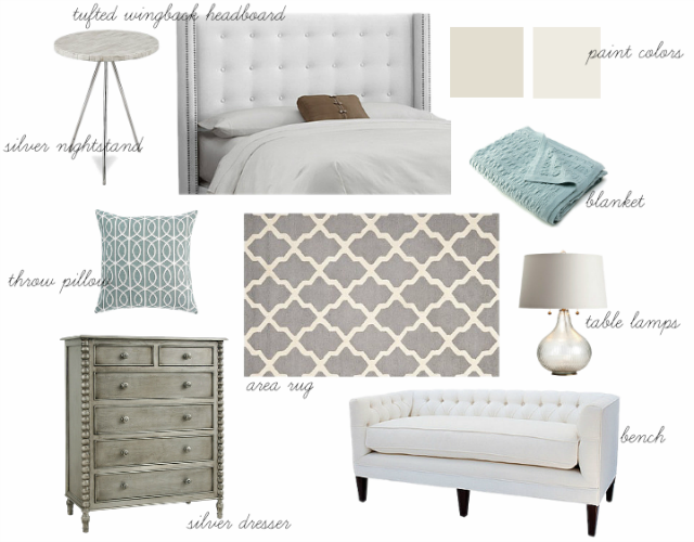 MASTER BEDROOM INSPIRATION BOARD — Colors and Craft